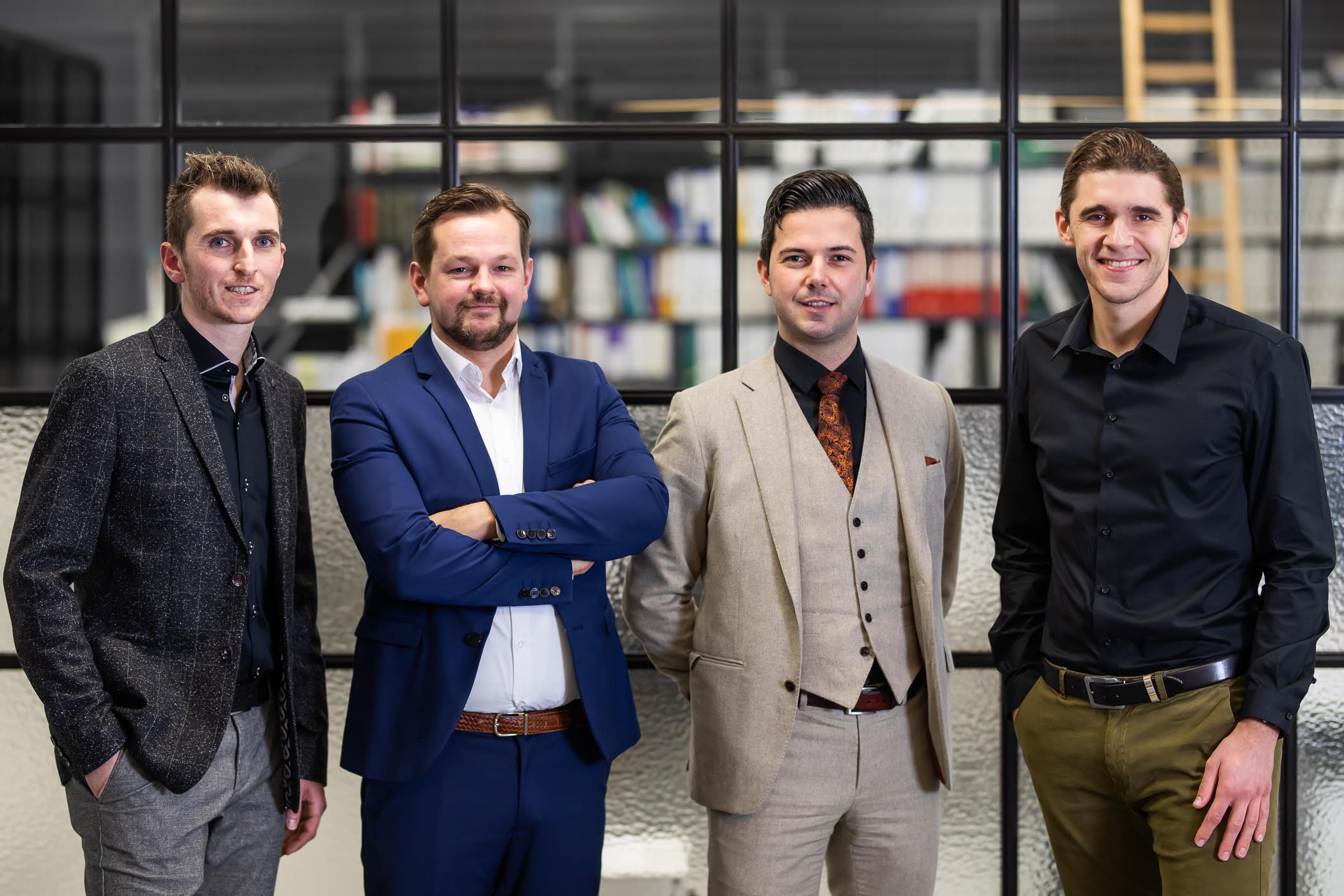 groepsfoto kandidaten JCI Award Jonge Ondernemer 2019